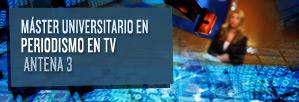 Máster Universitario en Periodismo en Televisión
