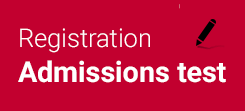 Sign up for the Admission Exams