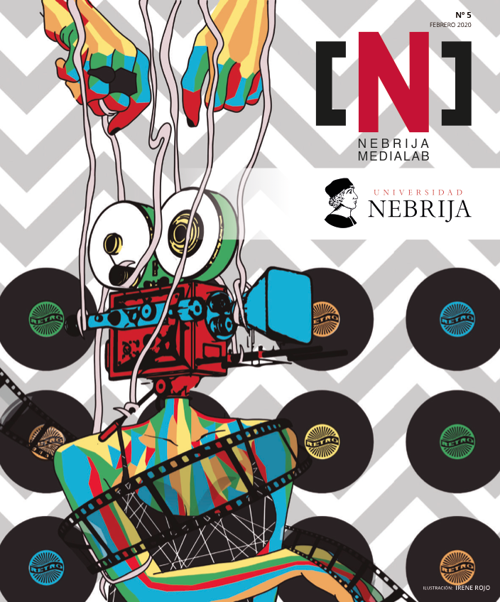 La revista editada por alumnos y profesores de la Facultad de Comunicación y Artes de la Universidad Nebrija