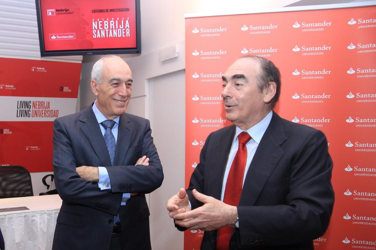 Nebrija y Banco Santander ponen en marcha la Cátedra en Inteligencia Ejecutiva y Educación