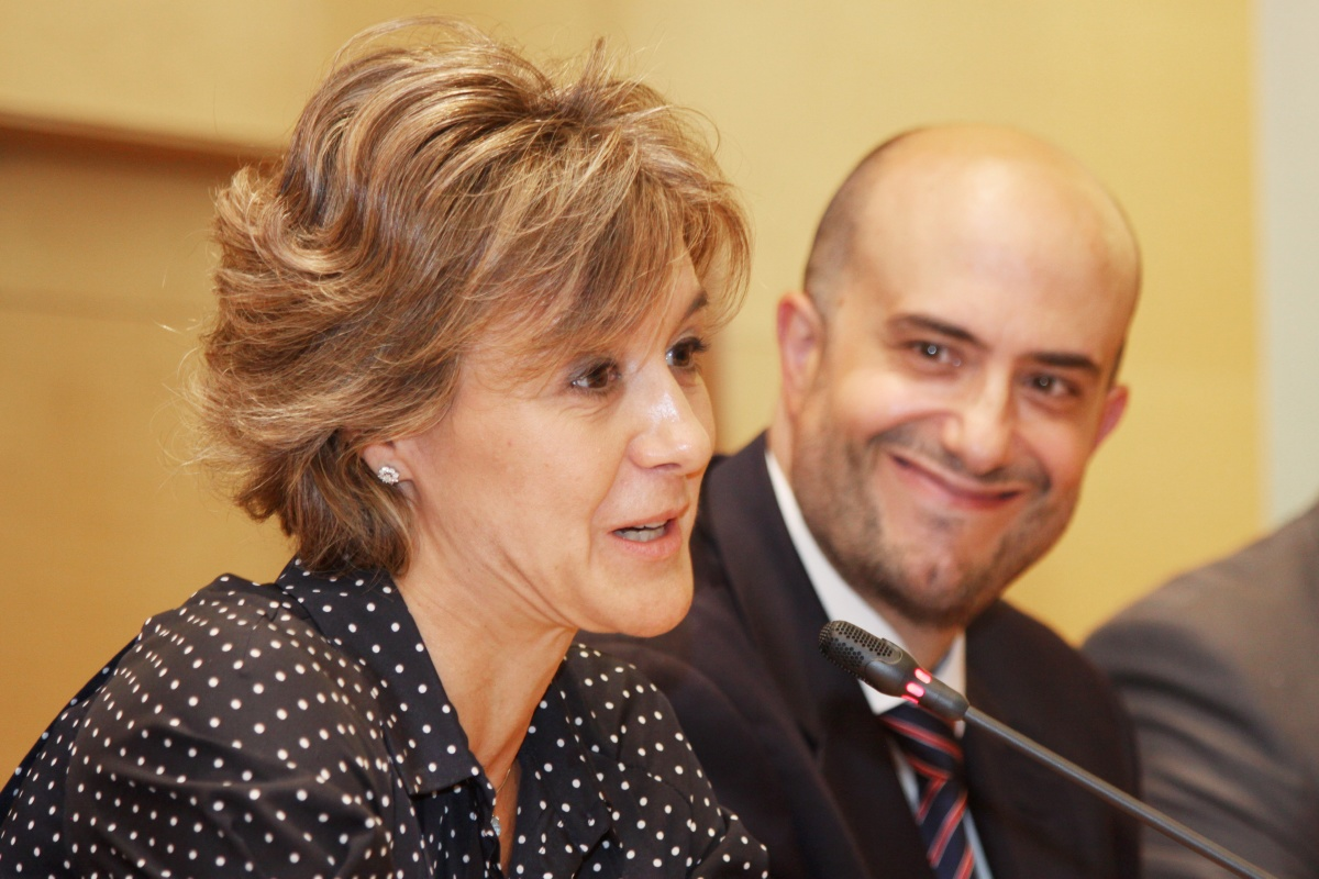 Isabel García Tejerina clausura la IV edición del Máster en Gestión de Empresas Agroalimentarias