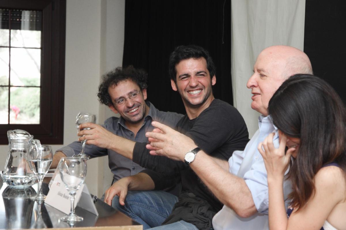 Alberto Castrillo-Ferrer, Fran Perea y Alistair Beaton