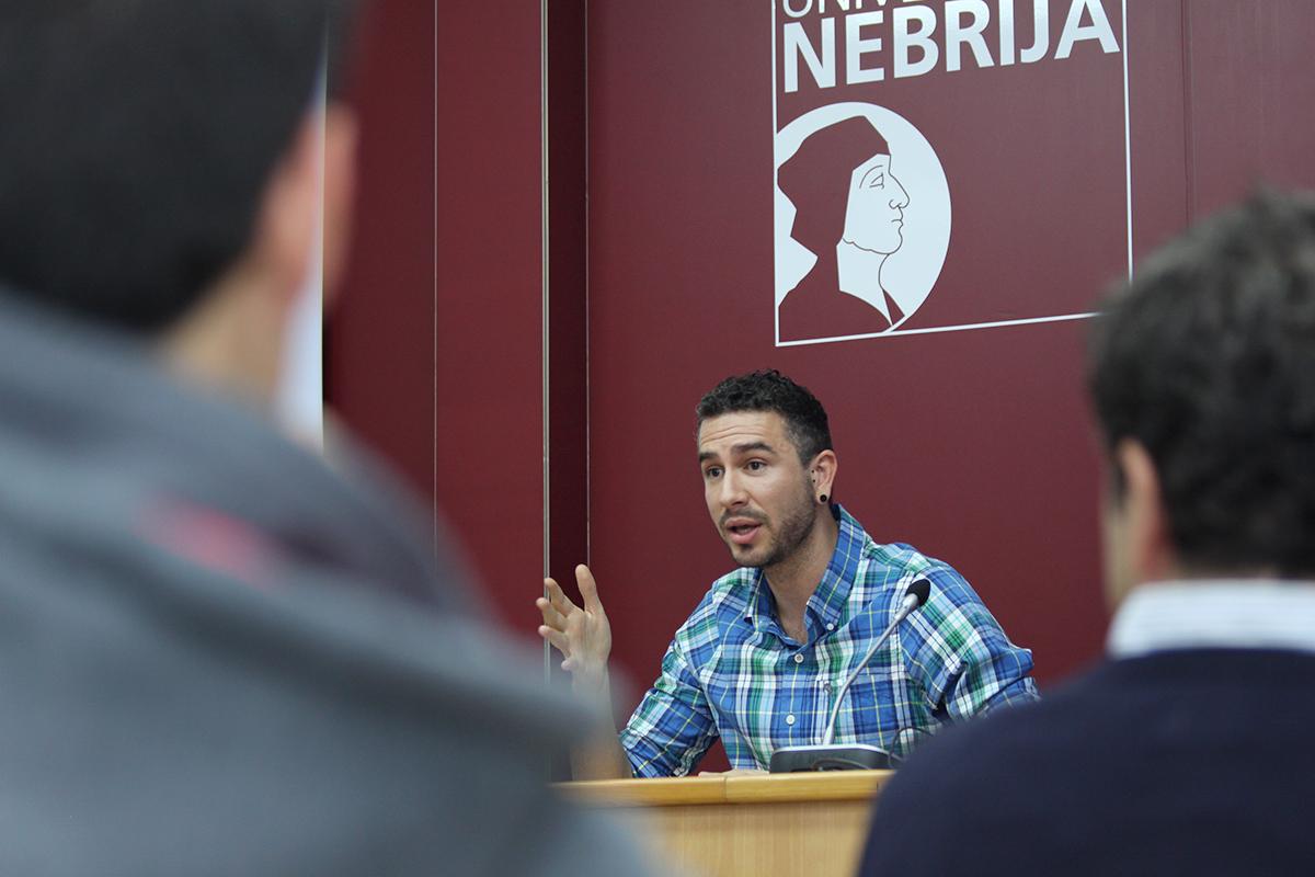 Rubén Navarro, antiguo alumno de la Universidad Nebrija