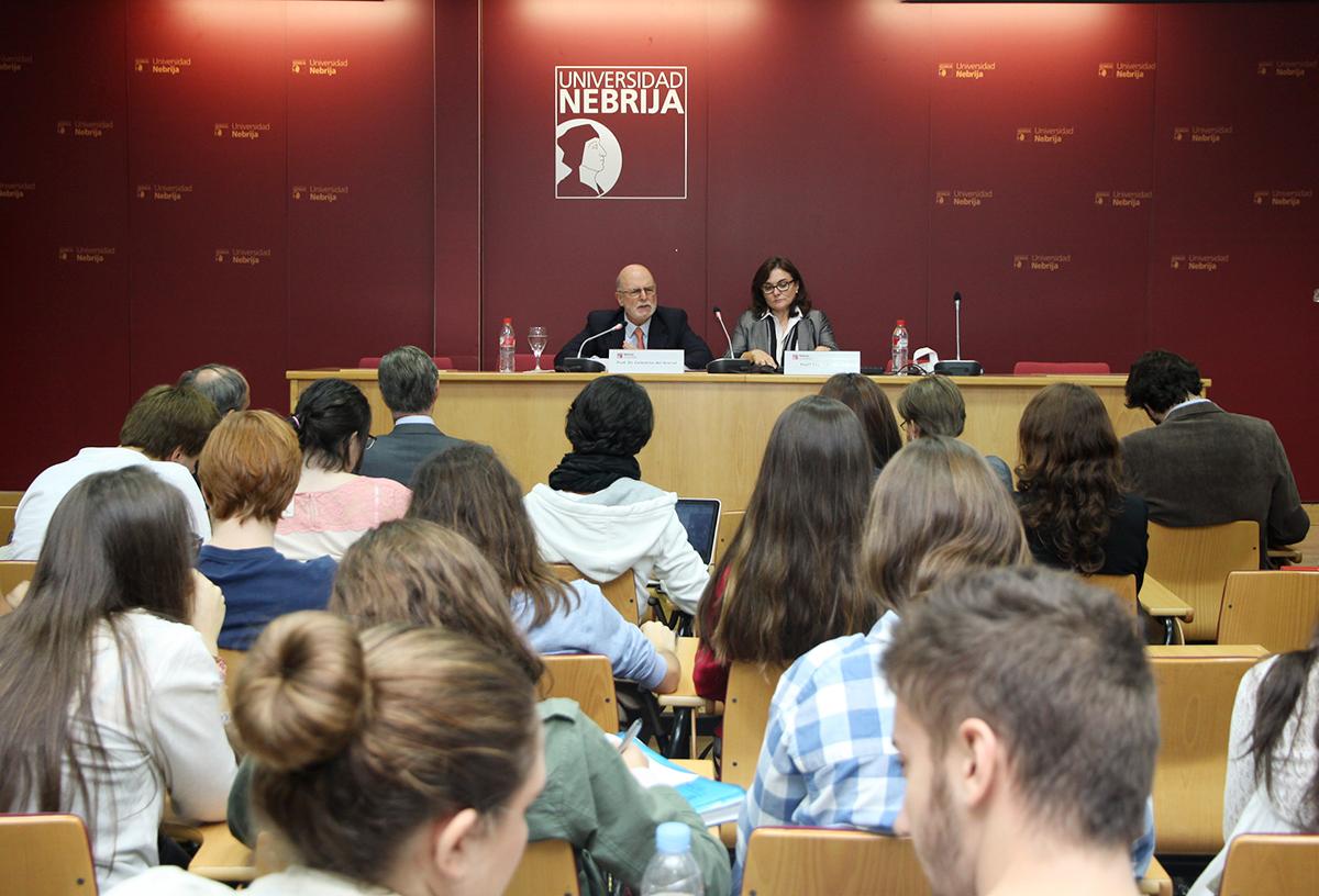 Celestino del Arenal, experto en Relaciones Internacionales, en la Universidad Nebrija