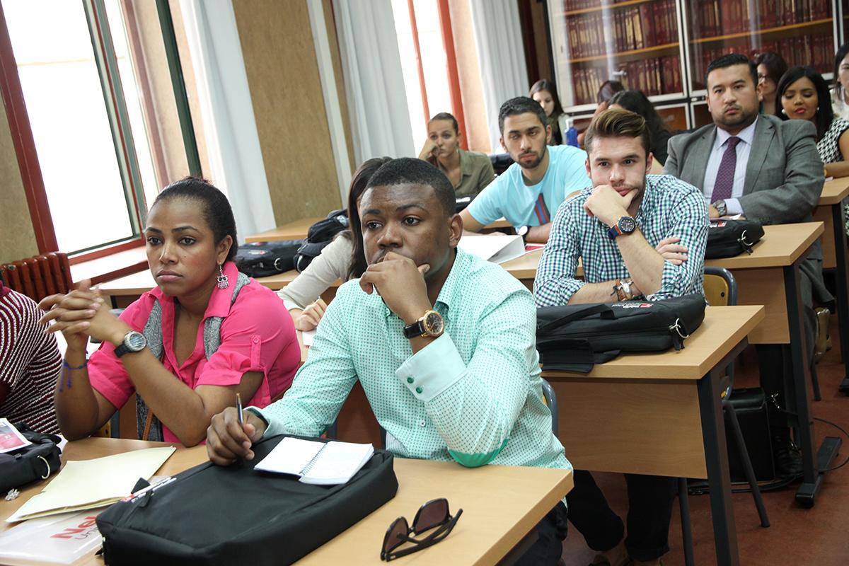 La Universidad da la bienvenida a los alumnos de los másteres de Nebrija Business School