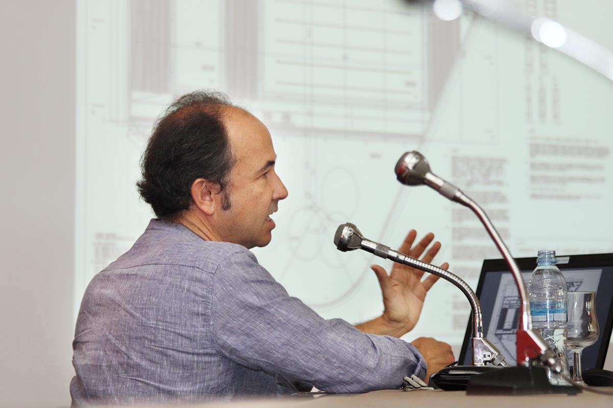 Javier Fresneda, de MTM Arquitectos, en la Universidad Nebrija