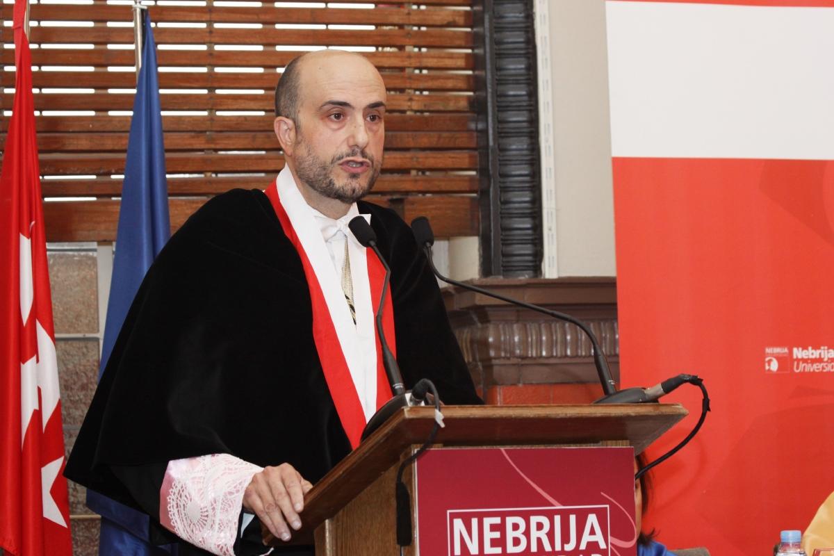 Juan Cayón Peña, rector de la Universidad Nebrija