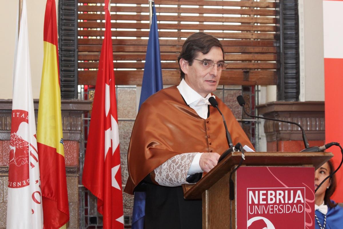Jordi Viñolas, director de la Escuela Politécnica Superior de la Universidad Nebrija
