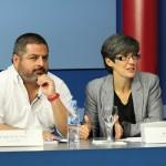 Jalis de la Serna, director y reportero de En Tierra Hostil,  y Luz Aldama, directora de Programas de Actualidad Atresmedia