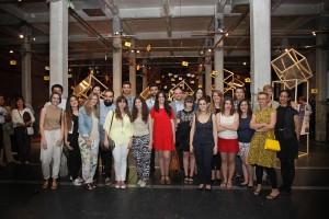 Los alumnos de Nebrija inauguran la exposición AB OVO en Matadero Madrid