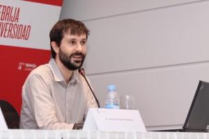 Javier Martín-Jiménez habló de su proyecto Hablarenarte