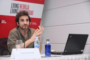 Borja Díaz de Megotti, director de la galería The Goma