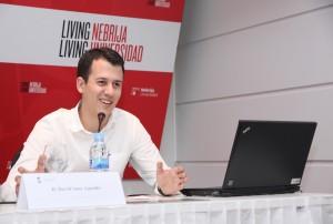 David Sanz Aguado explicó su proyecto Laposferia
