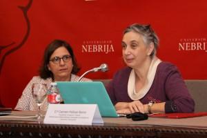 Carmen Pellicer, directora de la Fundación Trilema y subdirectora de la cátedra Nebrija-Santander en Inteligencia Ejecutiva y Educación, y Mónica Margarit Ribalta, directora general de la Fundación Princesa de Girona