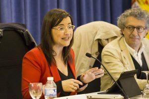 Pilar Bernal, reportera de informativos Tele5 y profesora de la Universidad Nebrija.