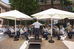 Concierto de la Unidad de Música de las Fuerzas Aéreas (ACAR-Getafe), en la Universidad Nebrija