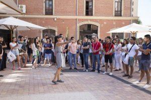 Jornada de bienvenida a los alumnos internacionales en la Universidad Nebrija
