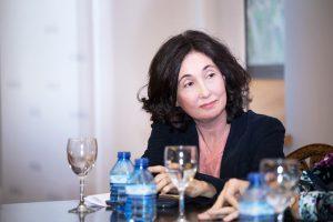La escritora Elsa Punset, en la Universidad Nebrija