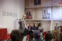 El rector Juan Cayón da la bienvenida a los alumnos internacionales