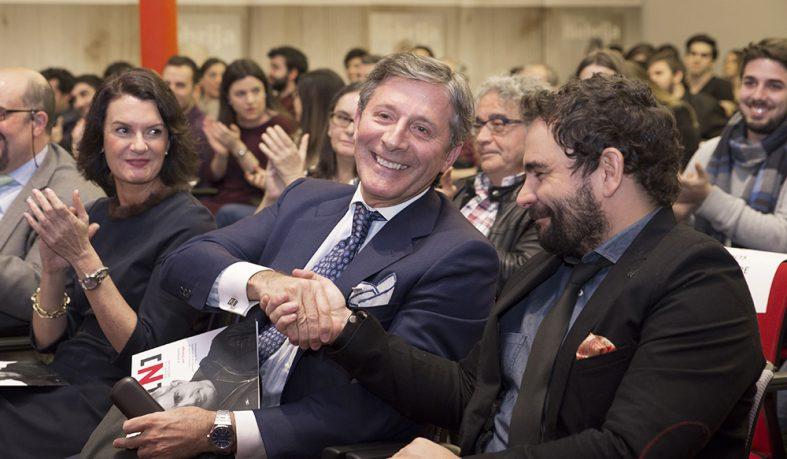 Los periodistas Jesús Álvarez y Ángel Sastre, premiados en esta VIII edición de Nipho