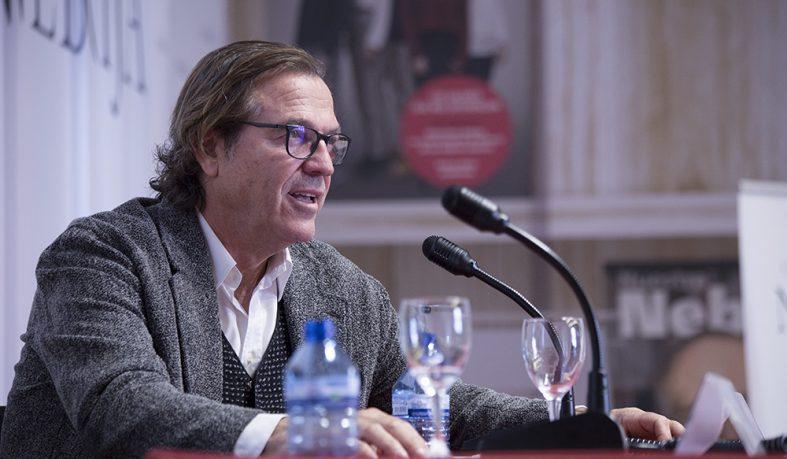 Pepe Navarro visita la Universidad Nebrija