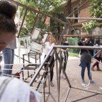Talleres sobre creación de fanzines e intervención escultórica
