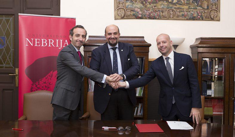Convenio de colaboración entre la Universidad Nebrija y Maio Legal