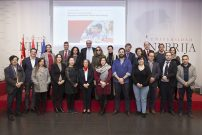 Santander Universidades presenta el programa de becas CRUE-CEPYME en la Universidad Nebrija