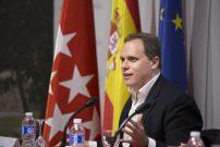 El economista Daniel Lacalle, en la Universidad Nebrija