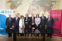 Convenio de colaboración entre la Universidad Nebrija y la Asociación ICEA