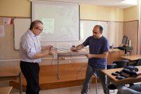 El divulgador científico Javier Fernández Panadero, en la Universidad Nebrija