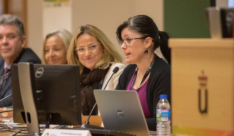 La vicerrectora de Integración Transversal participa en las V Jornadas de Innovación Docente de la Universidad Rey Juan Carlos