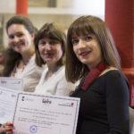 Acto de entrega de Diplomas del Examen LETRA