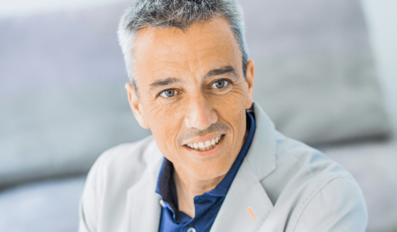 El coach Álvaro Merino