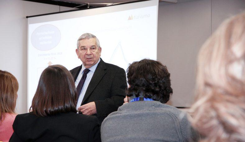 FITUR. Manuel Figuerola y la Mesa del Turismo