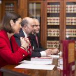 resentación libro con la Ministra Reyes Maroto