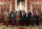 El Rey recibe a la Comisión Española de Historia Militar