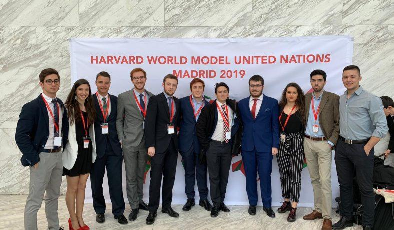Alumnos de la Universidad Nebrija participan en el Harvard WorldMUN