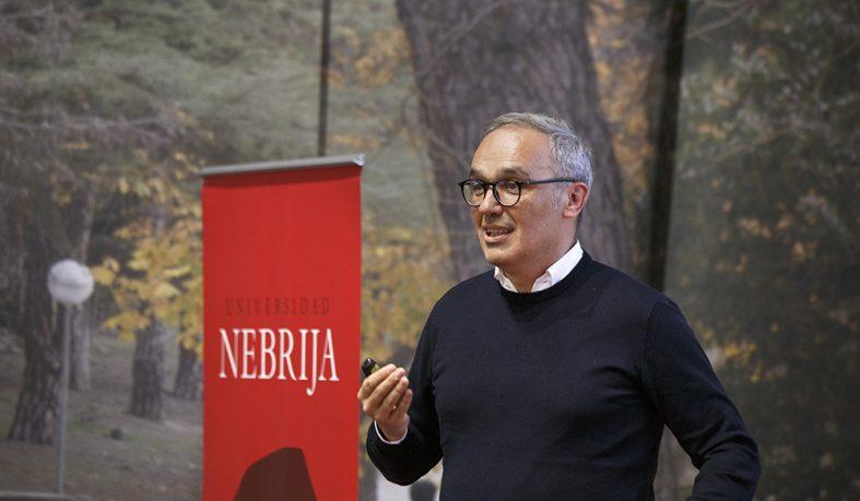El vicepresidente de Mango habla en la Universidad Nebrija sobre el futuro de la moda