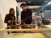 Carmen Iniesta, de la Universidad Nebrija, explica el motor termoacústico