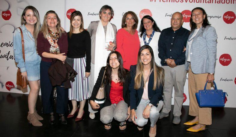 Alumnas premiadas por la Fundación Integra