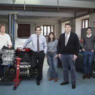 Los investigadores del Grupo de Investigación Nebrija en Ingeniería de Vehícu...
