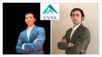 Pablo Alonso, de la carrera de Marketing, junto con Juan Gabilondo, de Relaciones Internacionales