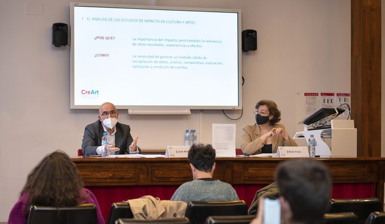 """Presentación libro """"Study on the impact of artists' mobility in European cities: the CreArt Project"""""""