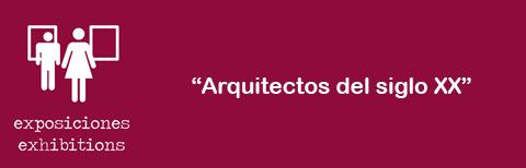 Arquitectos siglo XX - Encabezamiento