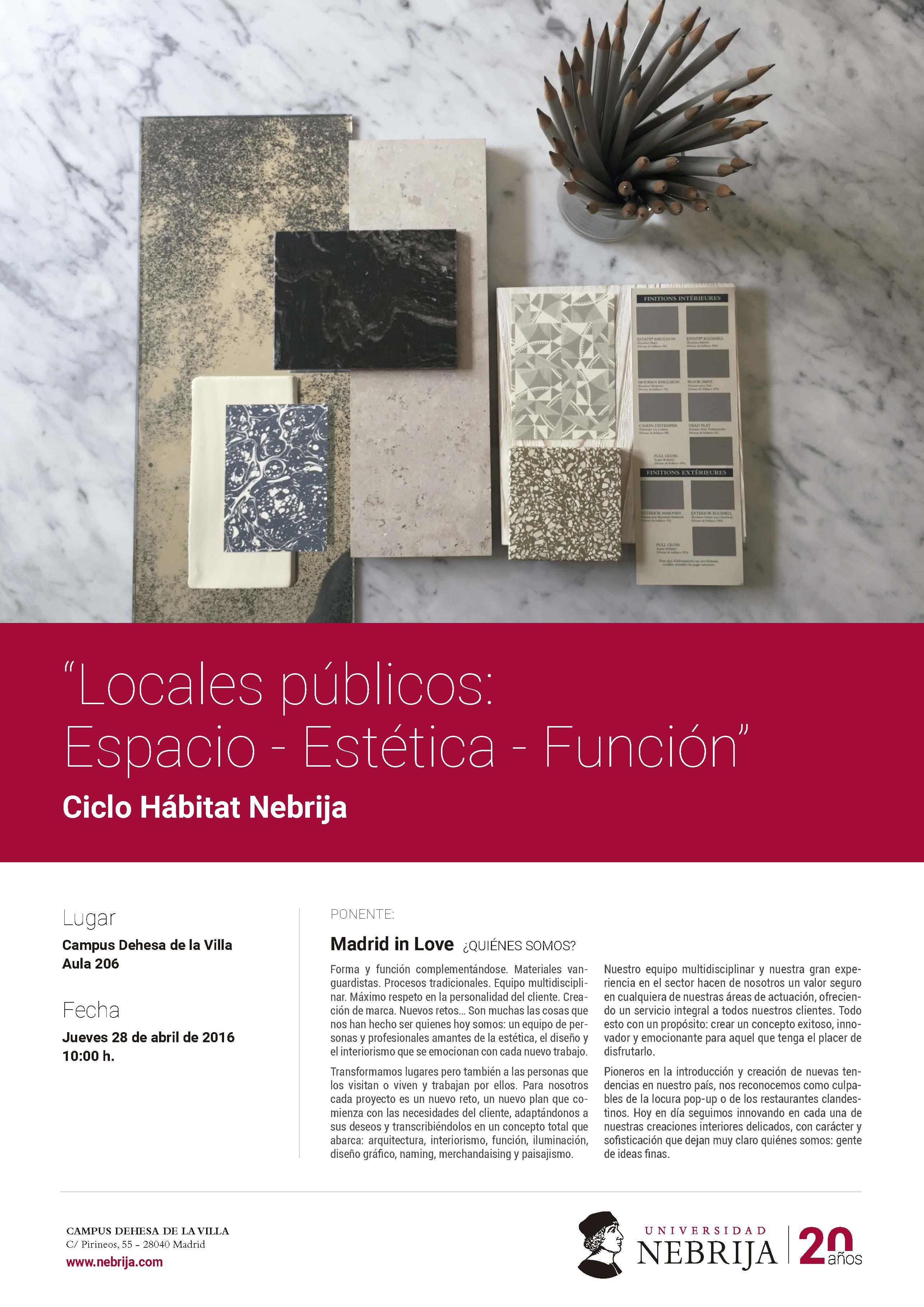 locales PUBLICOS