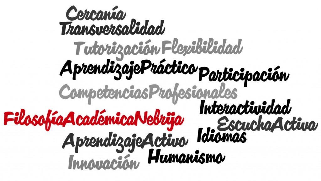 Filosofía académica Nebrija