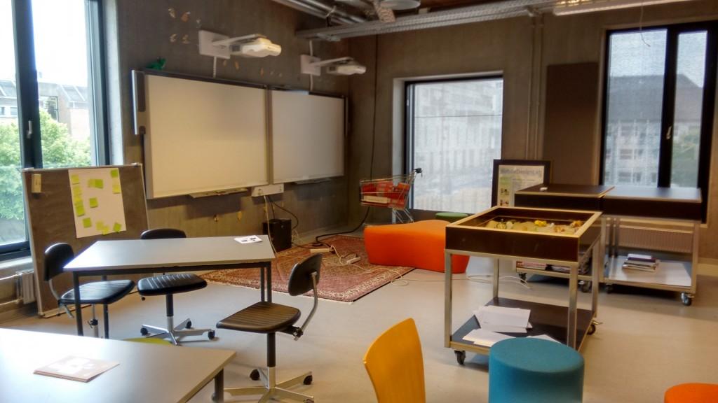 Sala para profesores e investigadores