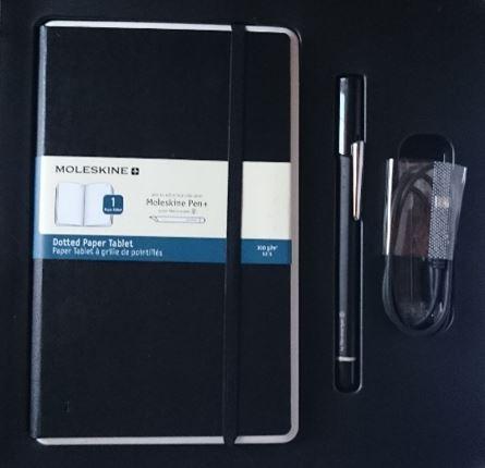 Libreta digital y pluma_Moleskine