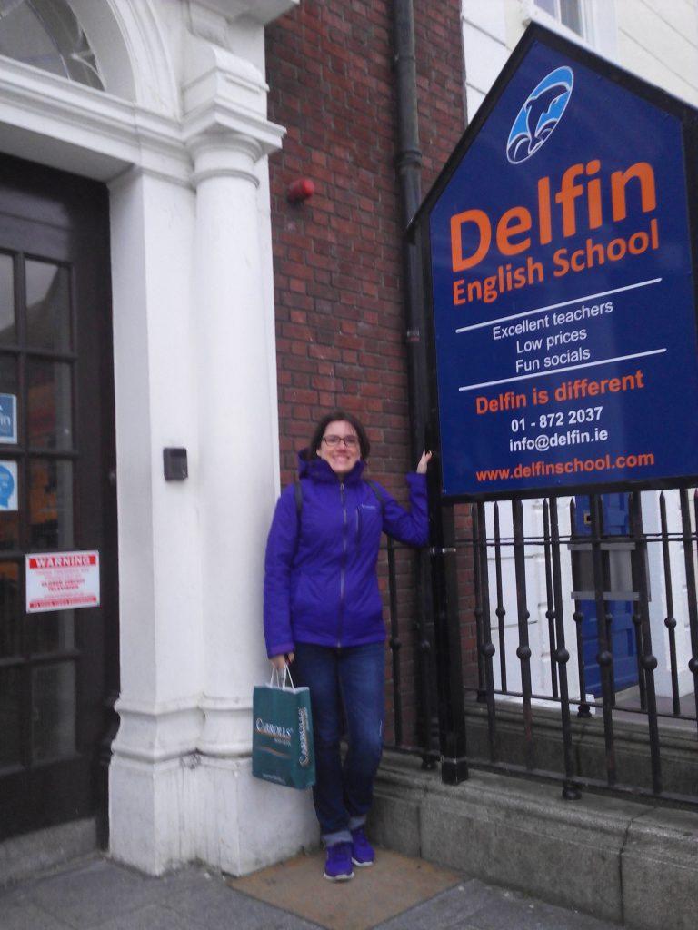 Paloma de Cruz_Escuela Erasmus Dublín